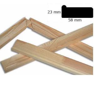 Krosno malarskie, blejtram 5,8x2,3 cm