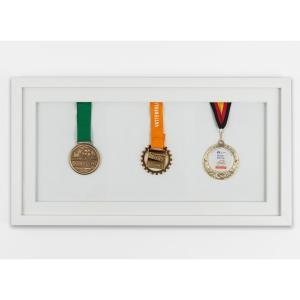 Rama na medale 25x50 cm, biała