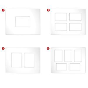 Multirama passe-partouts 2,5 mm, format zewn. 30x40