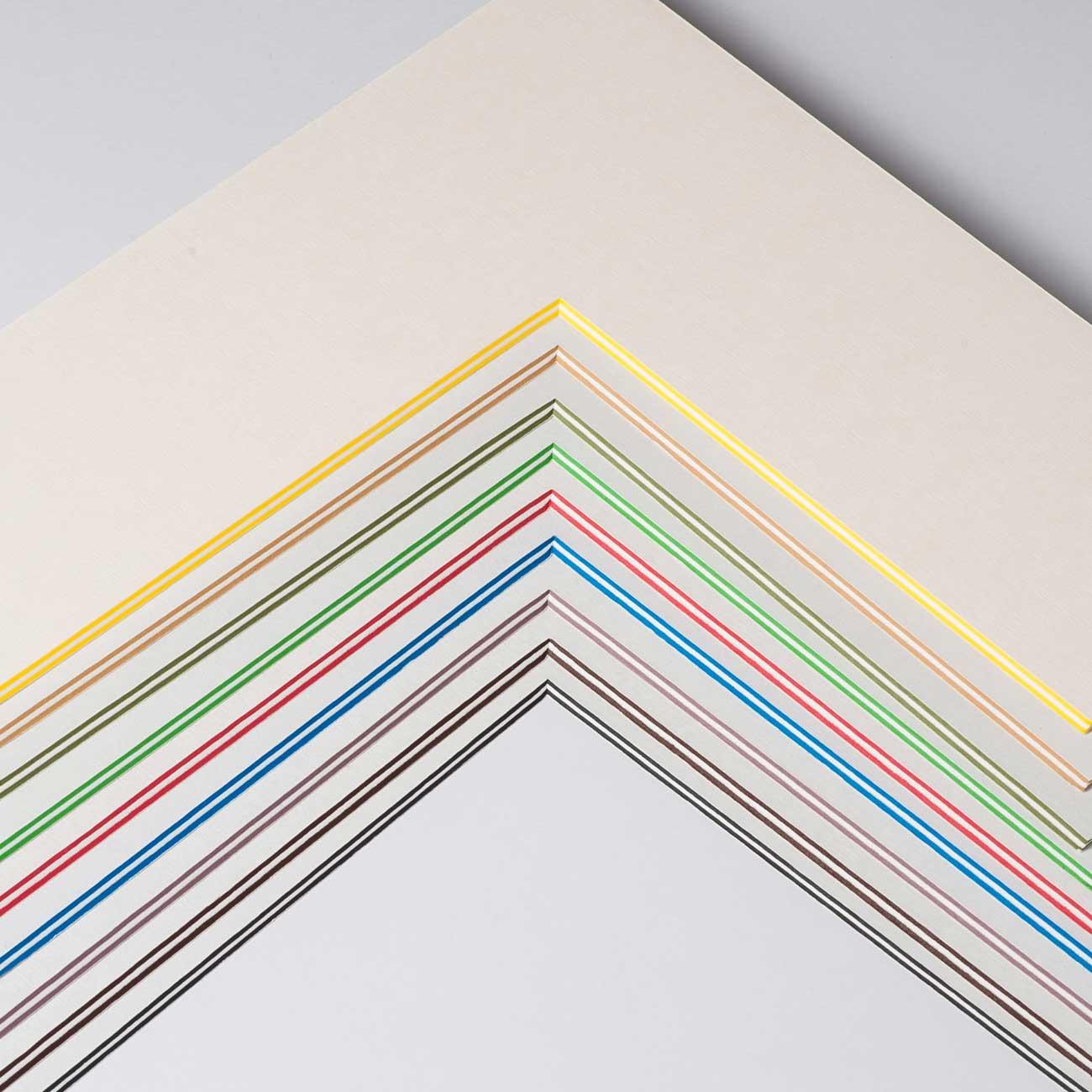 2,2 mm ColorCoreStripe passe-partout z wycięciem na wymiar