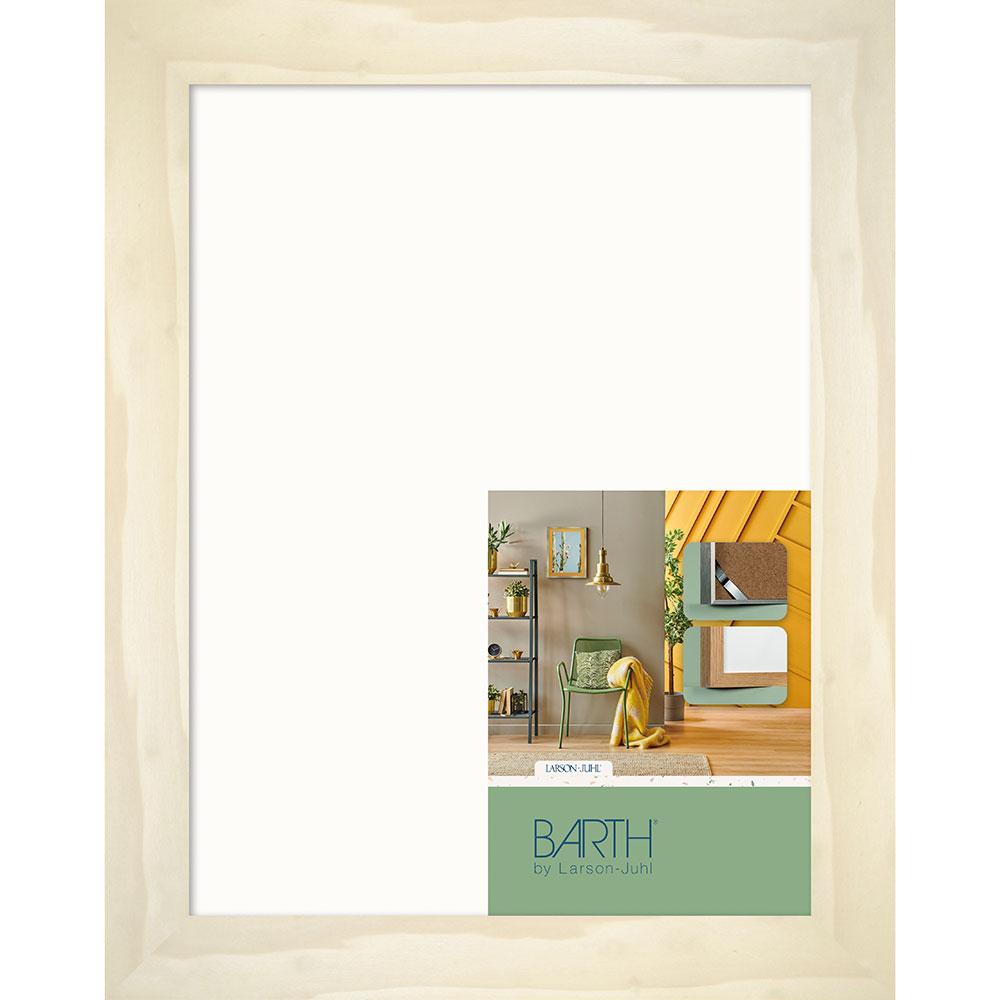 Drewniana rama gotowa seria 215 70x90 cm | topola naturalna | standardne szkło