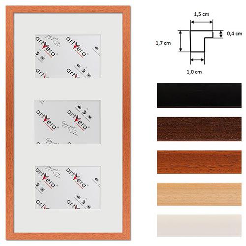 """Multirama na 3 elementy """"Uppsala"""", 25x50 cm - 10x15 cm"""