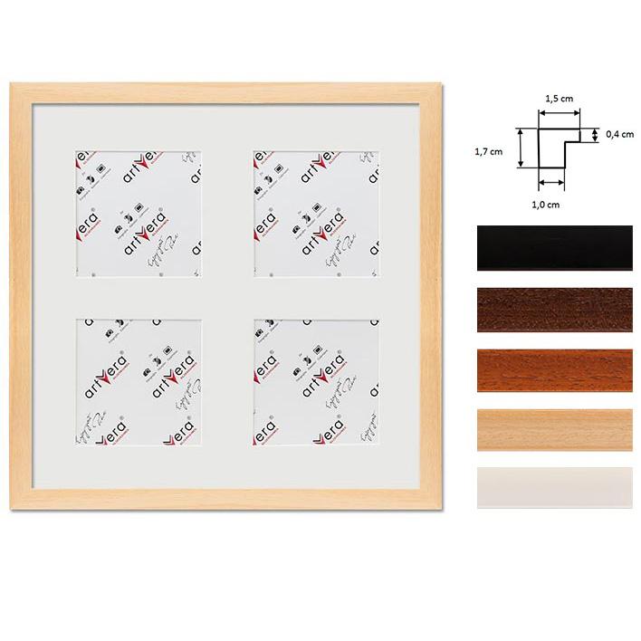 """Multirama na 4 elementy """"Uppsala"""", 30x30 cm - 10x10 cm"""
