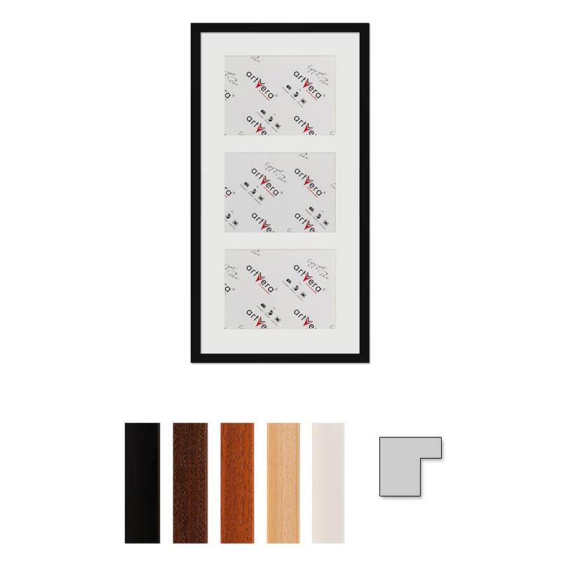 """Multirama na 3 elementy """"Uppsala"""", 30x60 cm - 15x20 cm"""