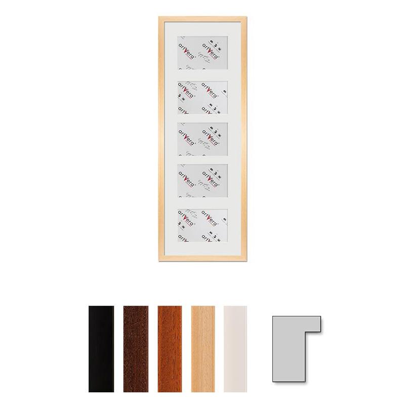 """Multirama galeria na 5 elementów """"Lund"""", 23x70 cm - 10x15 cm"""
