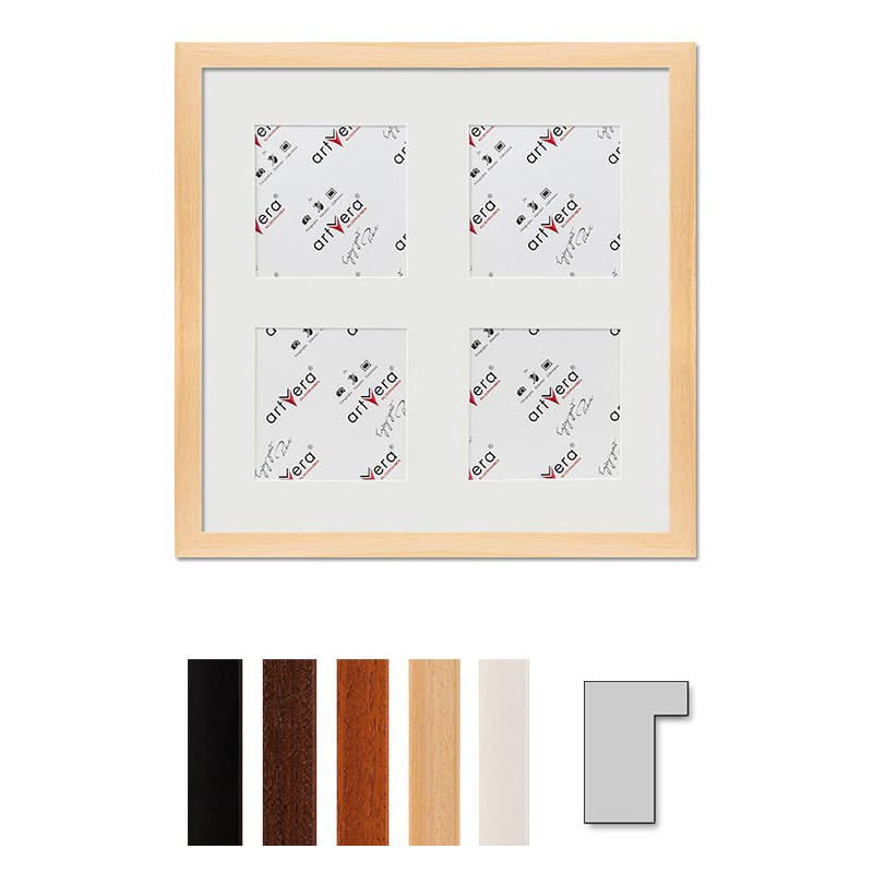"Multirama na 4 elementy ""Lund"", 30x30 cm - 10x10 cm"