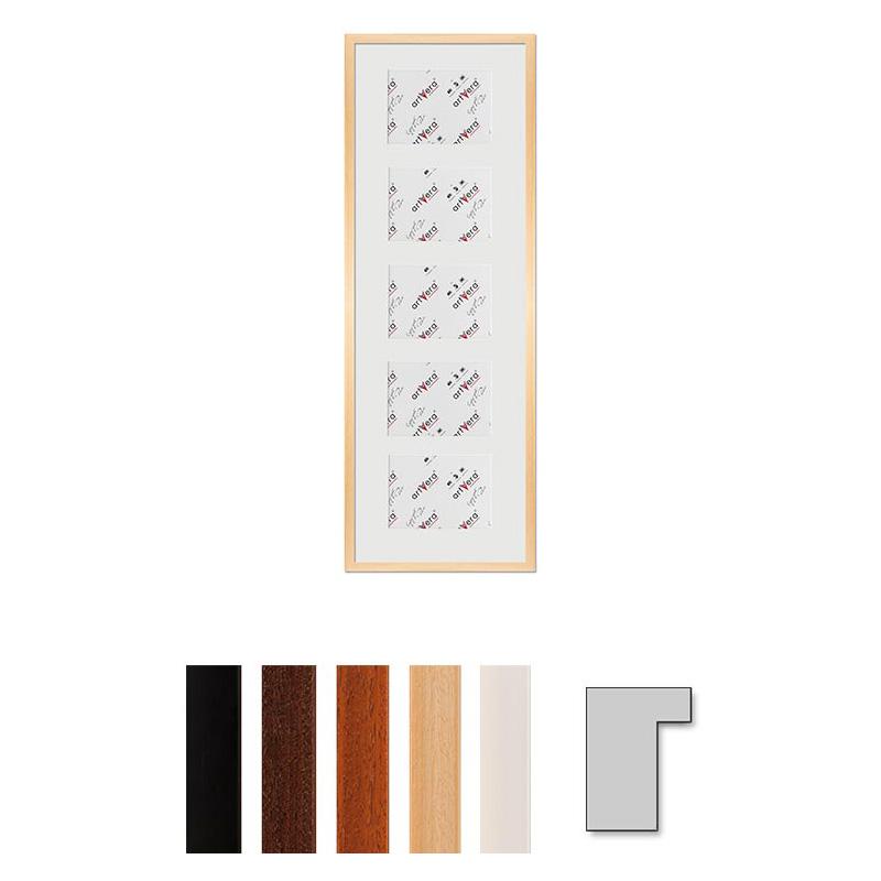 """Multirama galeria na 5 elementów """"Lund"""", 30x90 cm - 13x18 cm"""