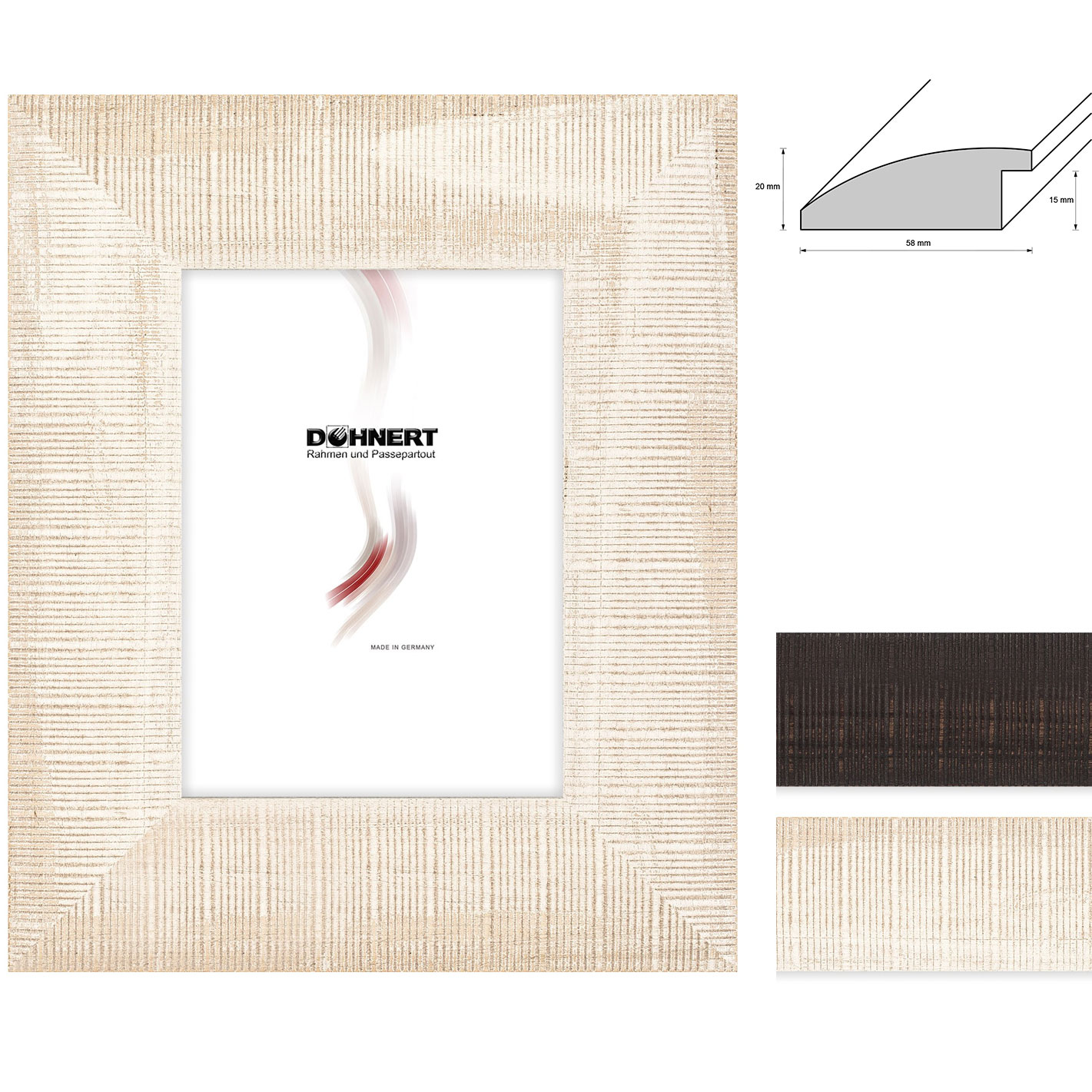 Rama drewniana Stamford Brook