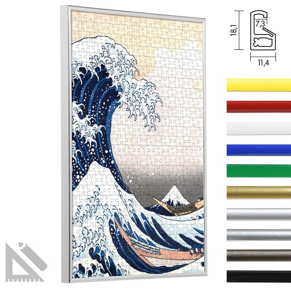 Plastikowa rama na puzle - specjalny format na max. 100x100 cm