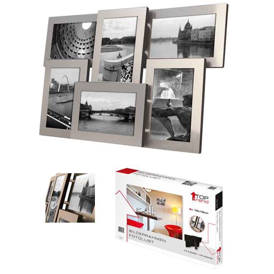 Aluminiowa rama na zdjęcia kolaż