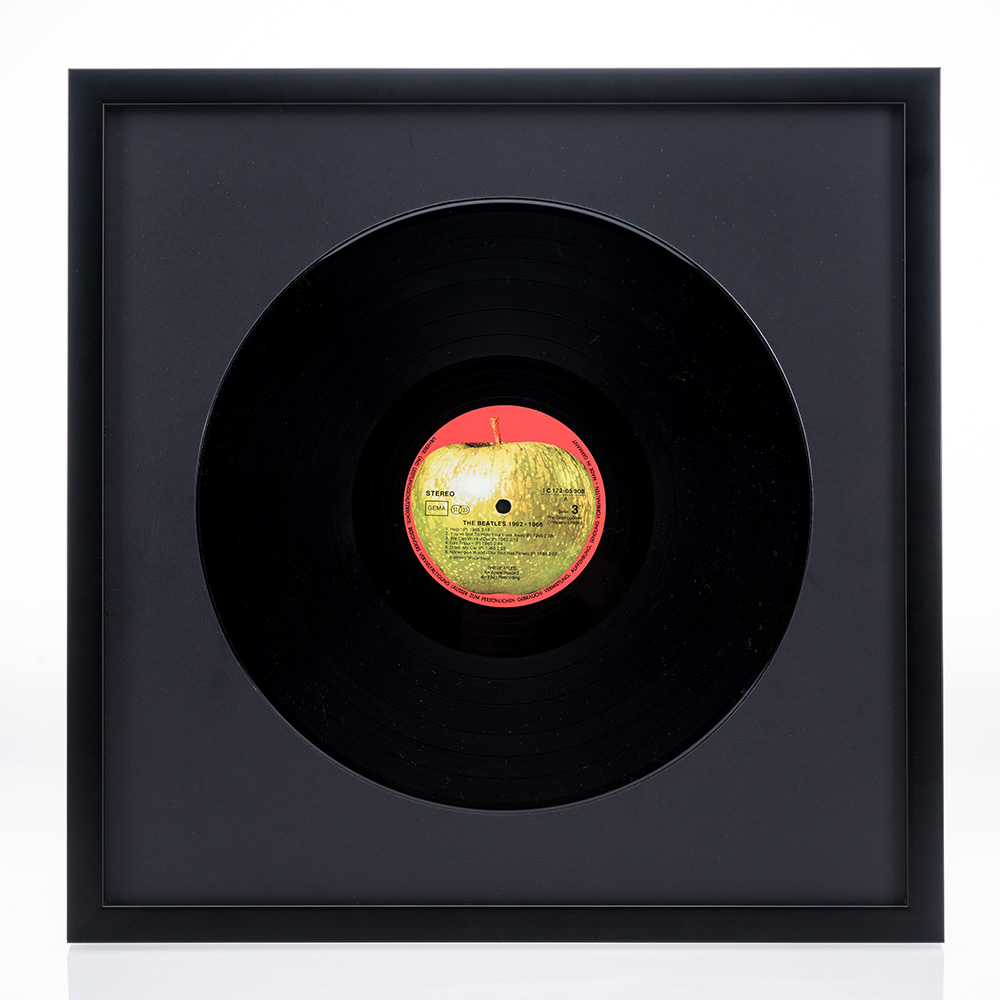 """Rama drewniana """"Figari"""" na płytę gramofonową"""