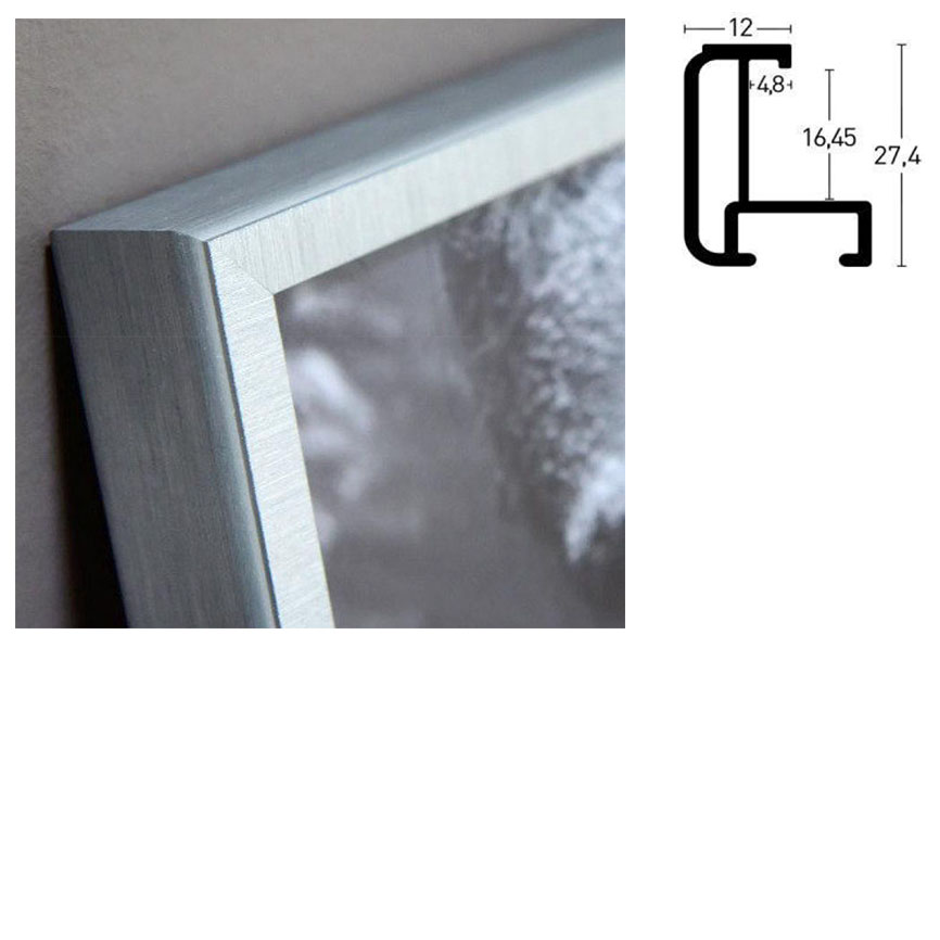 Rama aluminiowa na wymiar, profil 179