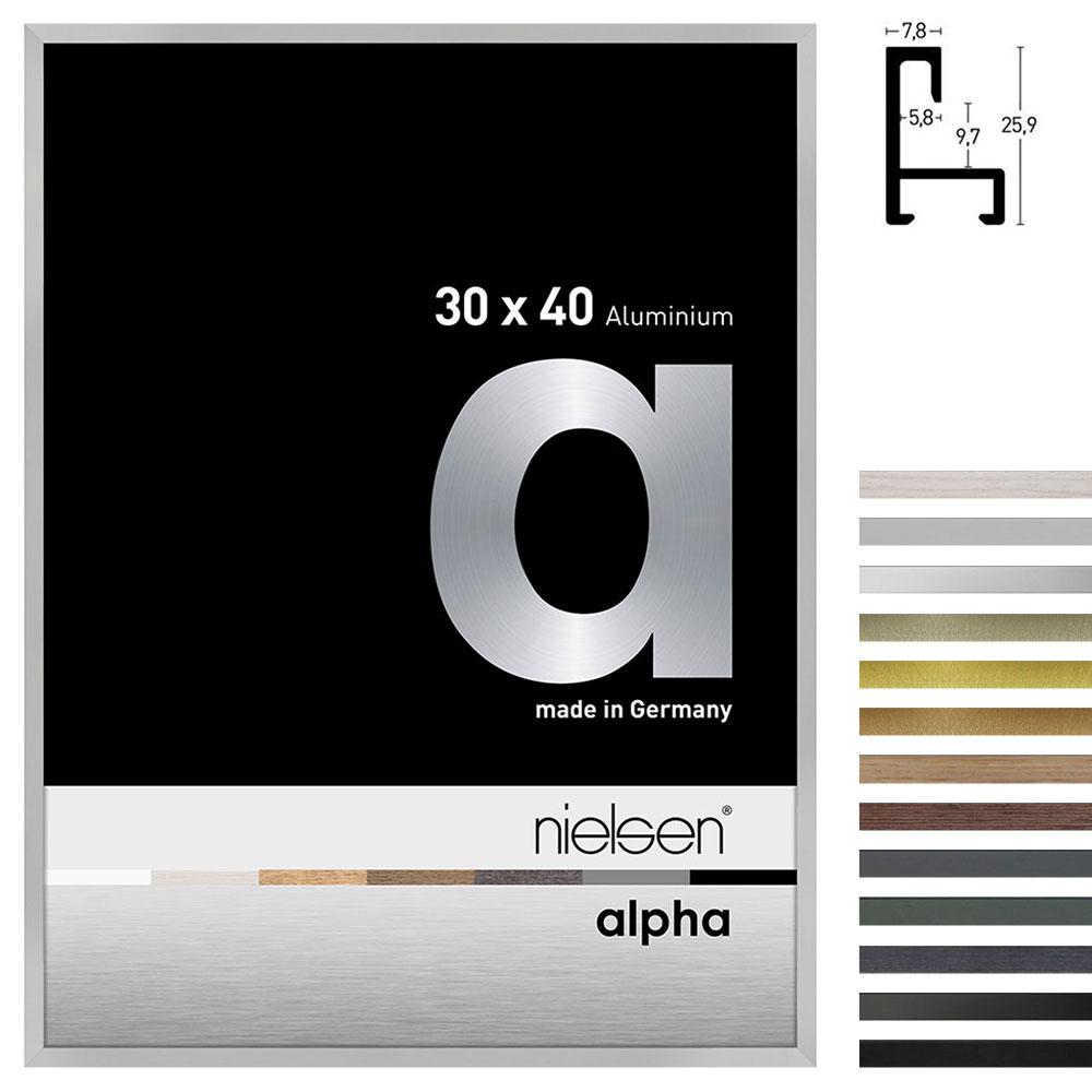 Rama aluminiowa profil alpha