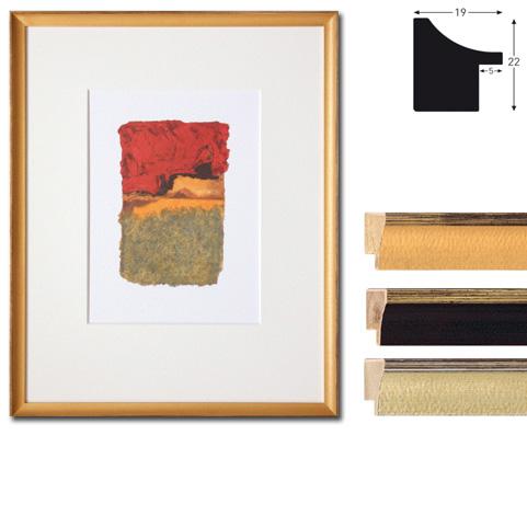 Rama drewniana na wymiar, Vazgen Minis 2-19x22