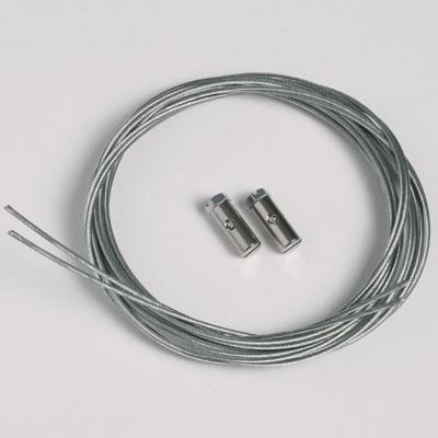 50 szt. linek stalowych 1,3mm/200cm z zaciskami zintegrowanymi (max. ciężar 7 kg)