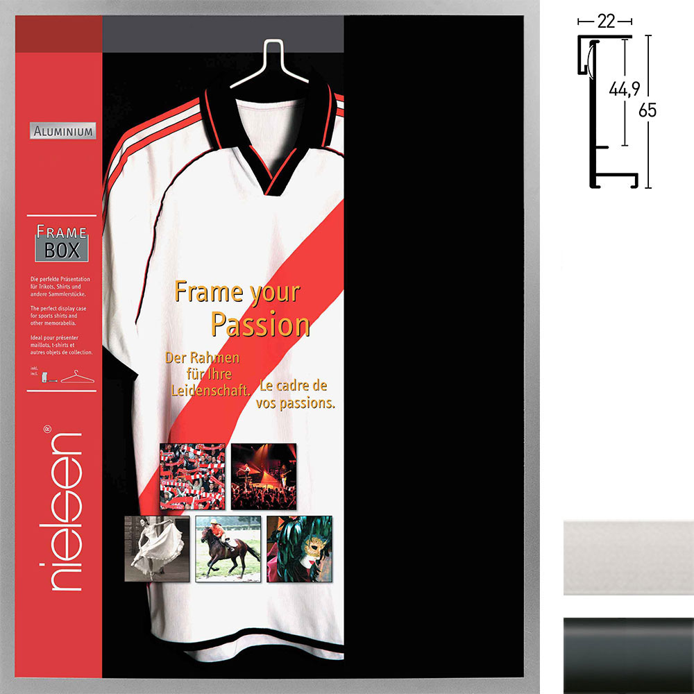 FrameBox - rama na koszulkę piłkarską Nouvelle