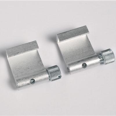 2 szt. aluminiowych haków do obrazów