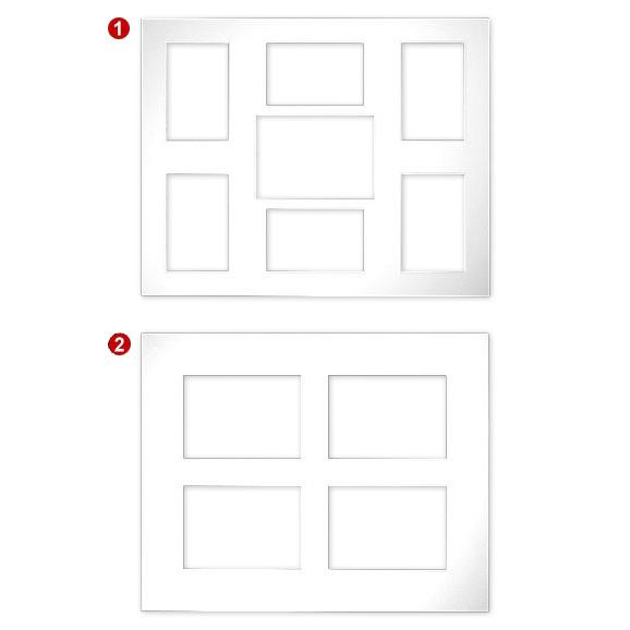 Multirama passe-partouts 2,5 mm, format zewn. 40x50