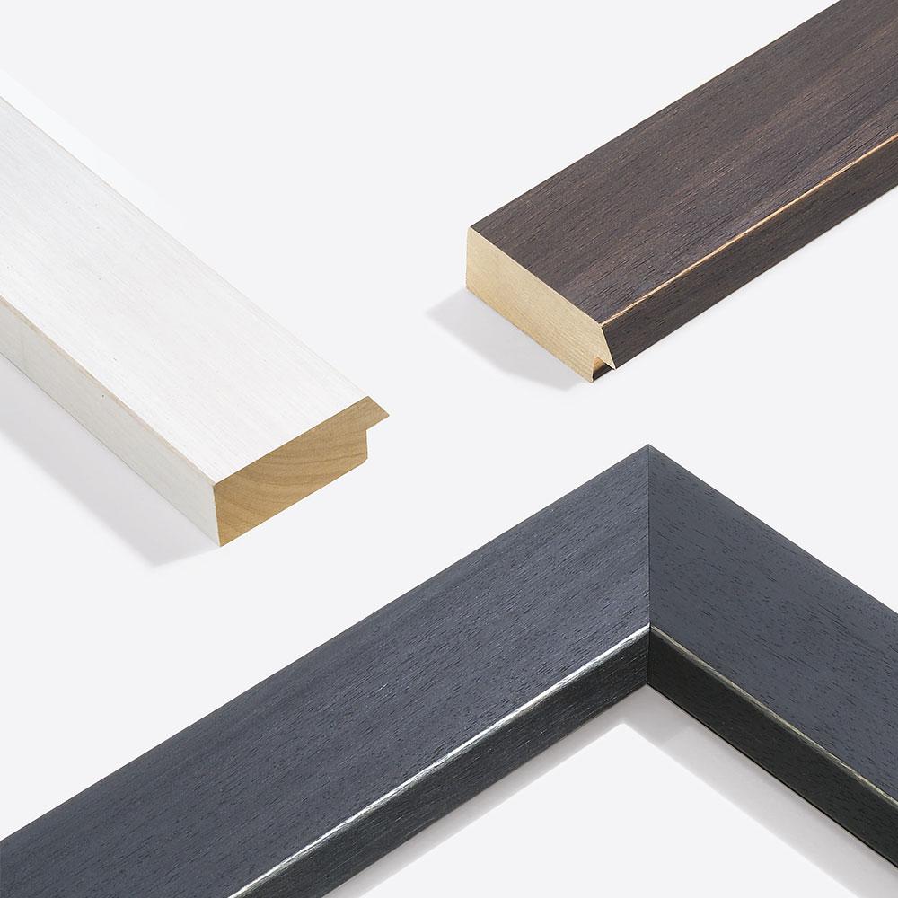 Rama drewniana na wymiar, Modern Shabby 75
