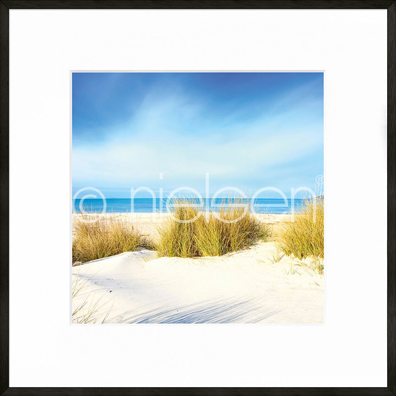 """Obramowany obraz """"Dune"""" z ramą aluminiową C2"""