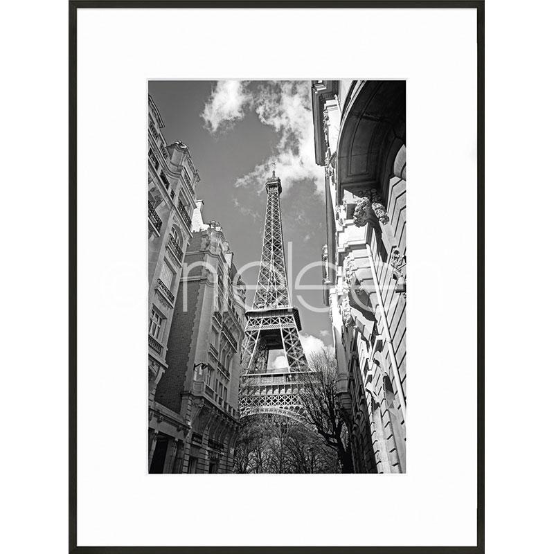 """Obramowany obraz """"Eiffel Tower"""" z ramą aluminiową C2"""