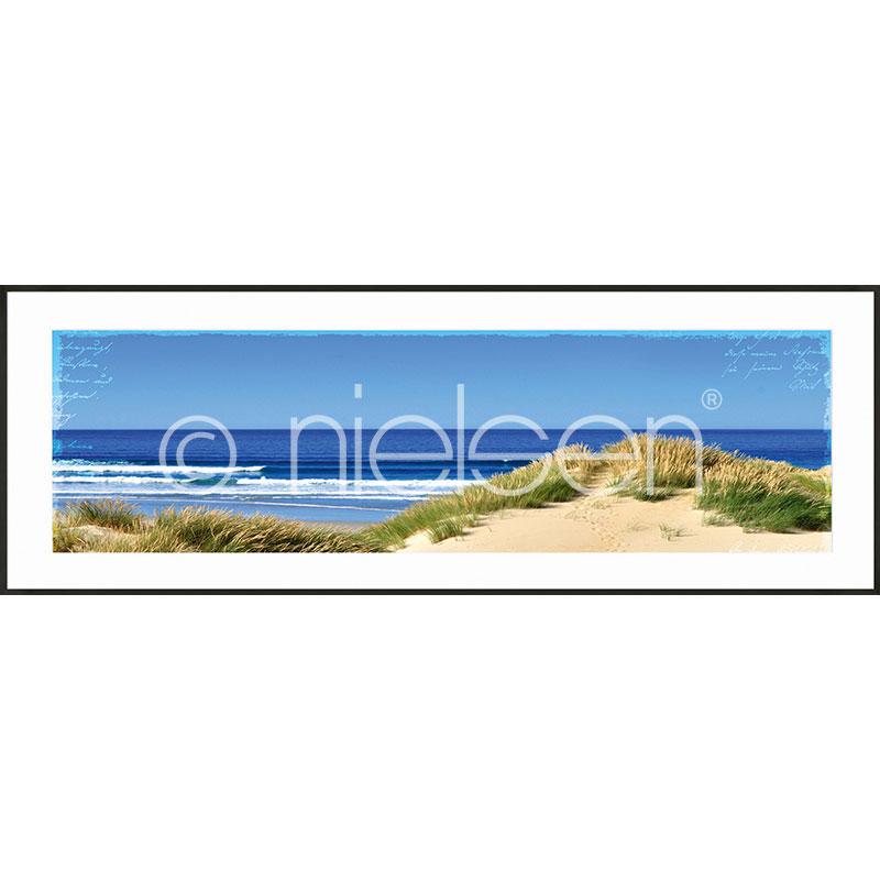 """Obramowany obraz """"Dune Ocean"""" z ramą aluminiową C2"""