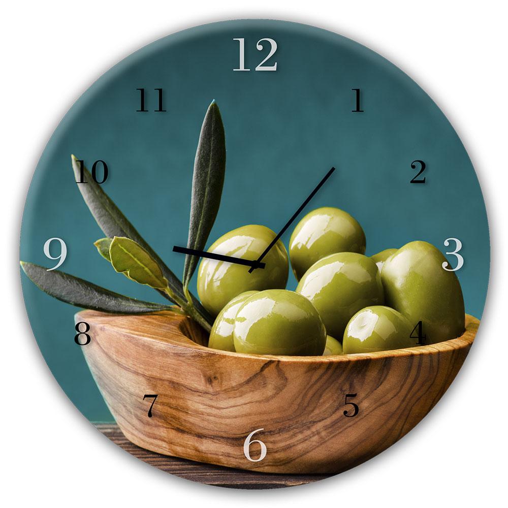 Szklany zegar OLIVES