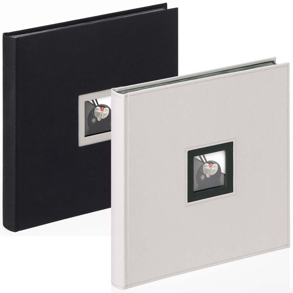 """Album książka """"Black & White"""" do wklejania, 30x30 cm"""
