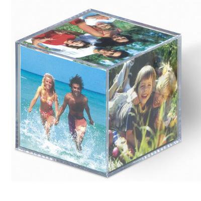 Plastikowa foto kostka na zdjęcia