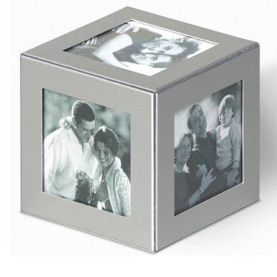 Aluminiowa foto kostka na zdjęcia